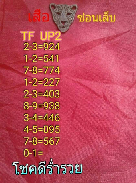 Thai Lottery Exclusive HTF Green Papers Facebook Timeline 16 June 2020
