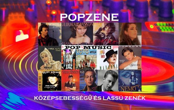 Popzene - a legsikeresebb popzenék