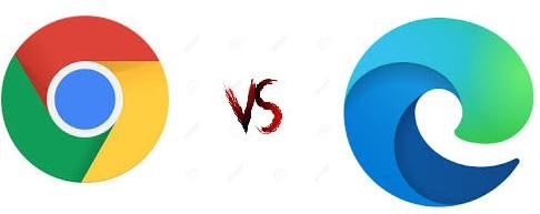 تعرف على الفرق بين متصفح جوجل كروم و متصفح microsoft edge