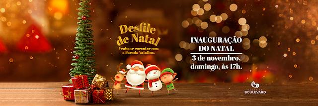 Shopping Boulevard recebe natal 'Balão do Papai Noel'