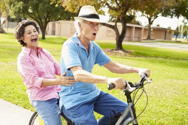 Ποδηλάτες 70 έως 80 ετών διαθέτουν το ανοσοποιητικό σύστημα ενός 20άρη