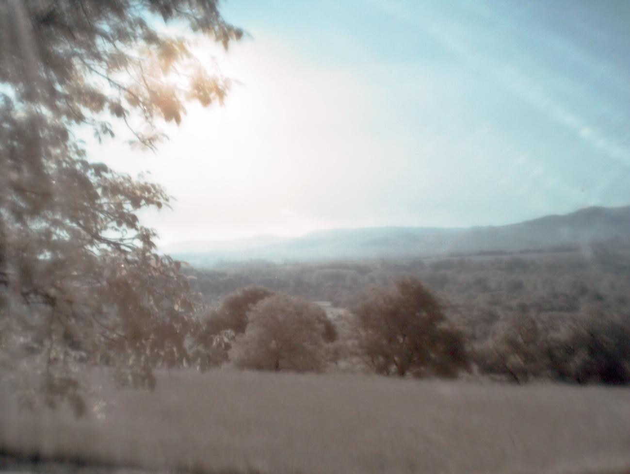 Bilder des Tages #103 — Morgeneindrücke mit dem infraroten Kollimator