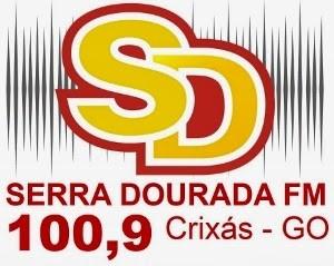 Rádio Serra Dourada FM de Crixás GO  ao vivo pela net