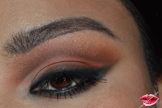 natural cat eye, cat eyeliner, 90's makeup, alexa demie, natural look, zoeva caramel melange, hean 804, inglot 299