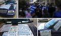 Πορεία οπαδών του Σώρρα στους δρόμους των Ιωαννίνων