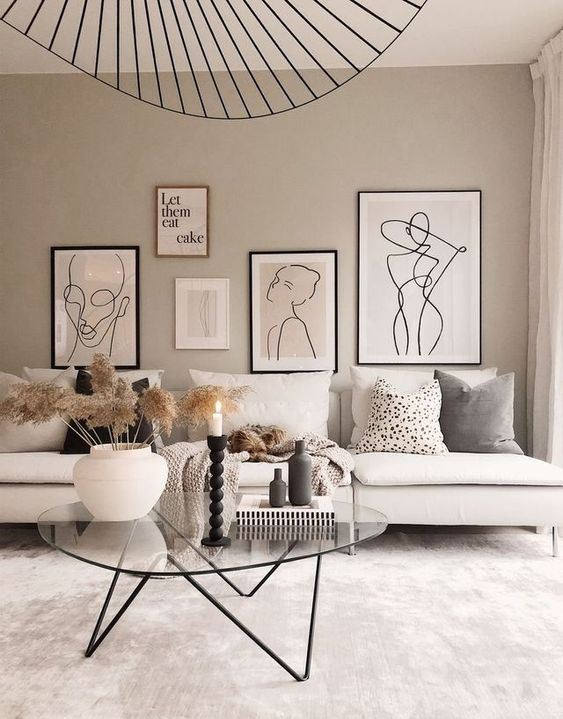 Living rooms are often the center of our social life