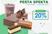 Promo Dapur Cokelat Pesta Spekta GrabFood