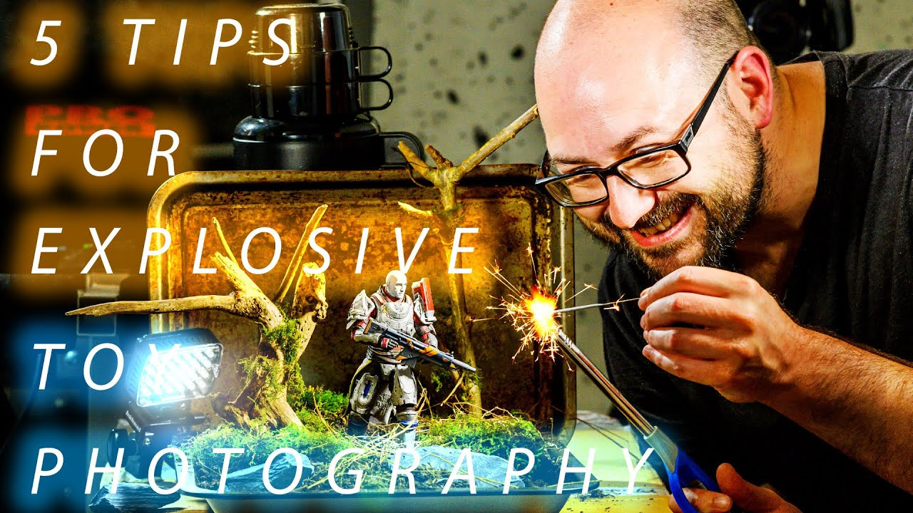 5 Tips for creating explosive toy photography on a budget