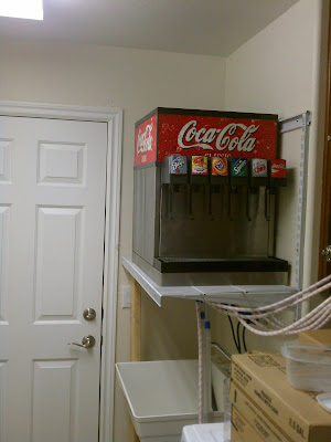 Home soda fountain (insulate, sink, installed, kitchen) - House