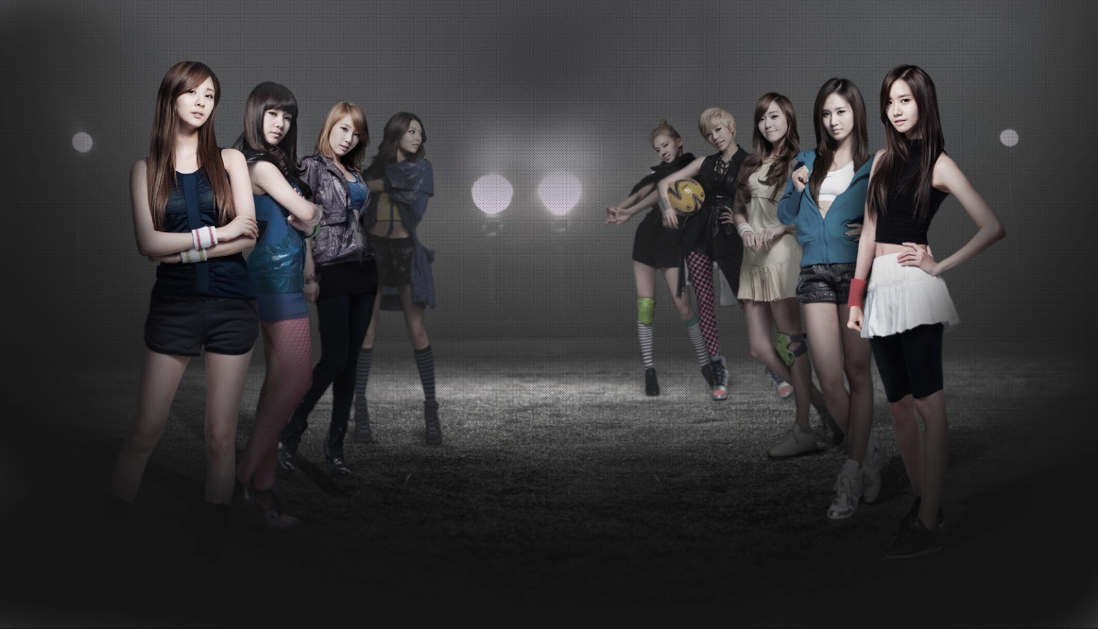 SNSD Girls Generation Freestyle Sports Wallpaper HD