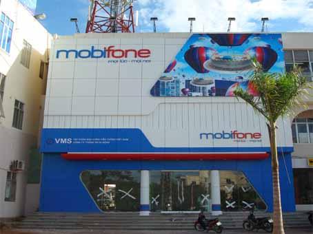 Làm bảng hiệu cửa hàng mobifone