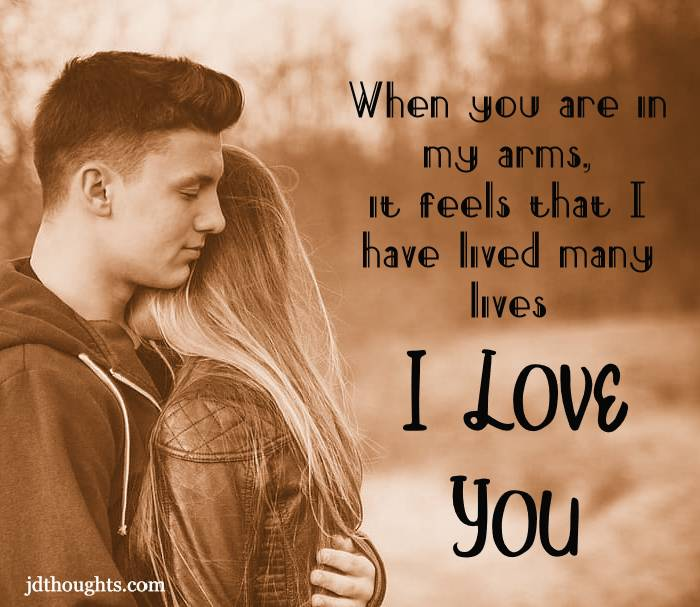 Love msg for her