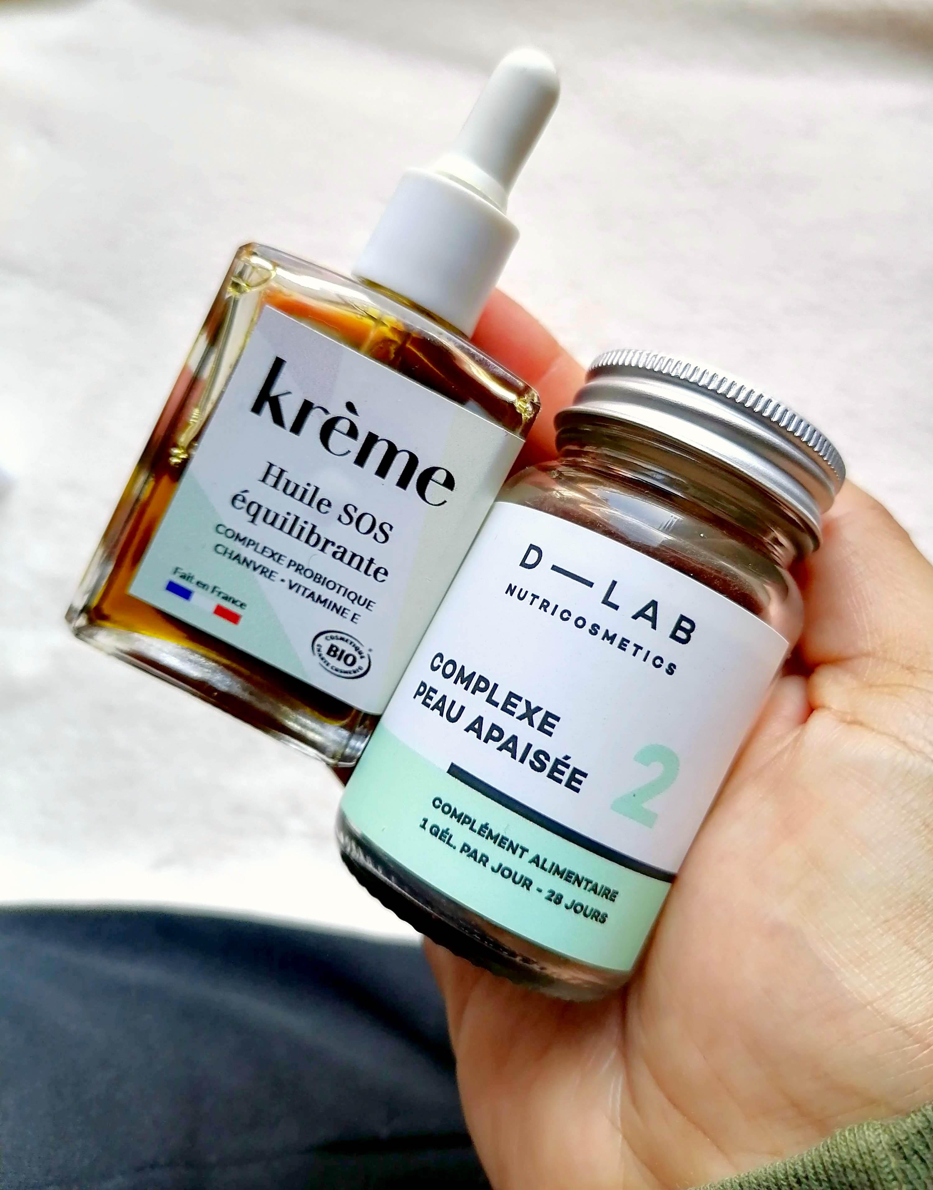 Krème x D-Lab, la collab qui fait du bien à ta peau!