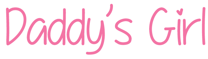 Daddy's Girl Font