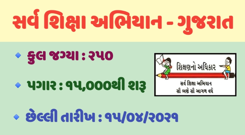 SSA Gujarat Recruitment 2021, SSA Gujarat CRC Coordinator Recruitment 2021, CRC Recruitment, CRC Coordinator Gujarat, Gujarat CRC Coordinator Recruitment 2021, CRC Gujarat, CRC Coordinator Salary, Latest SSA Gujarat Recruitment 2021, ssagujarat.org website, SSA Gujarat Recruitment, SSA Recruitment 2021, SSA Login, SSA Portal