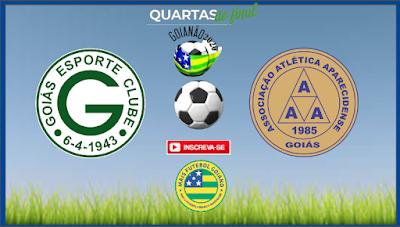 Aparecidense faz o dever de casa, vence Jaraguá e vai encarar o Goiás nas quartas de final