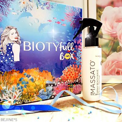 PURPLE*RAIN Biotyfull Box Juillet 2020 : Spray Wave Massato