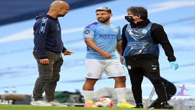 جوارديولا غياب أغويرو قد يستمر شهرين إضافيين