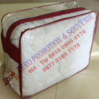 Produksi Tas Bed Cover / tas plastic mika bedcover custom