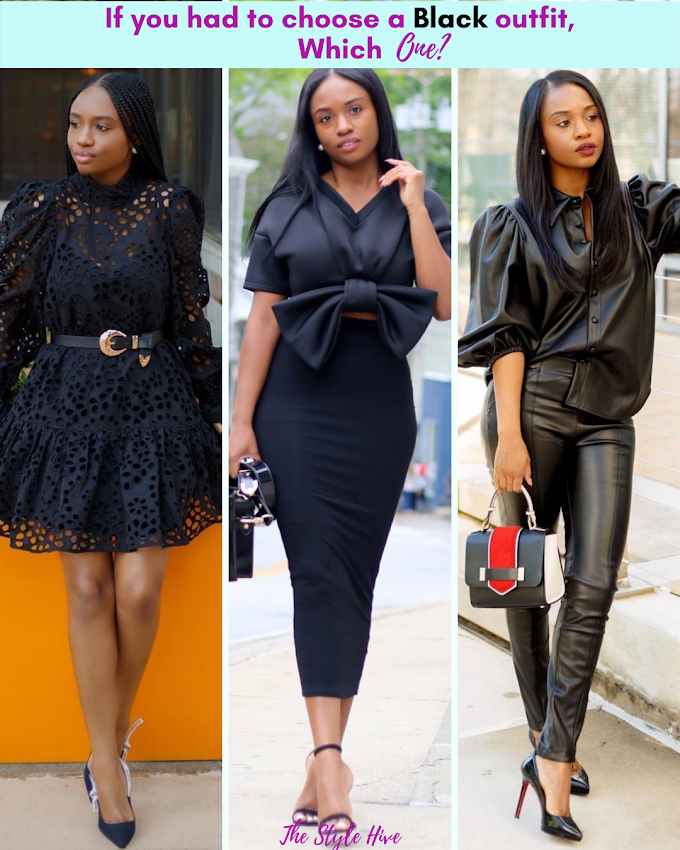 3 All Black Outfit Ideas, Featuring @prissysavvy