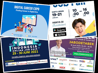 Jadwal Job Fair Lengkap di Bulan Juni 2021