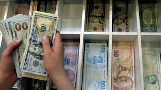 سعر صرف الليرة التركية مقابل العملات الرئيسية الجمعة 26/6/2020