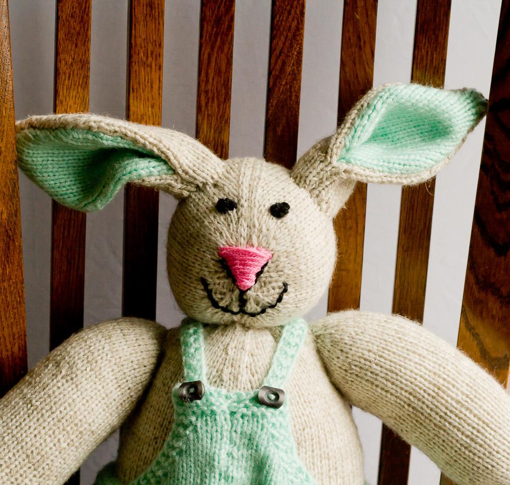 zając na drutach
