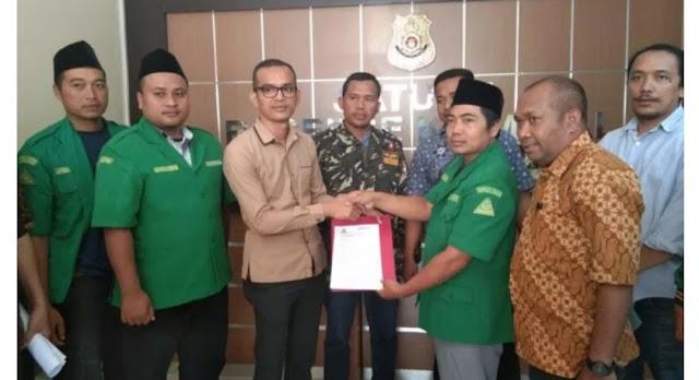 Hina Mbah Moen, GP Ansor Kutim Resmi Laporkan Akun Facebook Joe Ramadhan ke Polisi