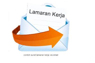 cara membuat surat lamaran kerja via email
