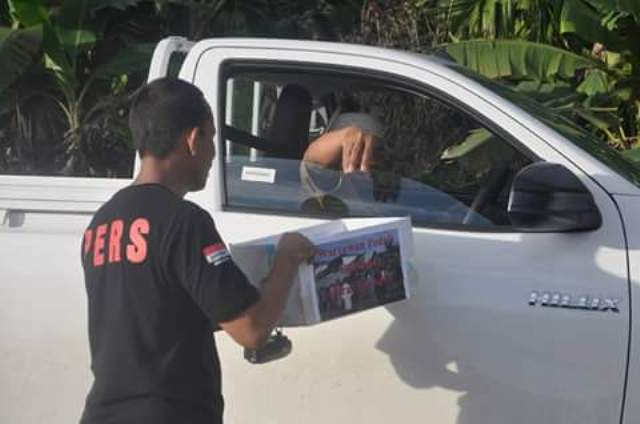 PWI Aceh Jaya Galang Dana Bantu Korban Gempa