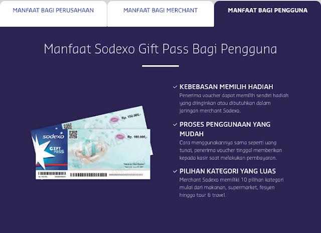 manfaat sodexo gift bagi pengguna