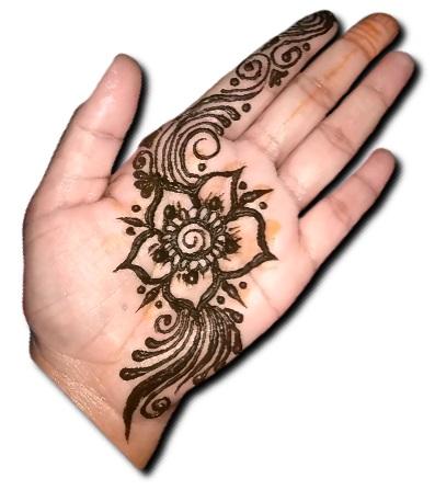 Simple Mehndi Design Easy