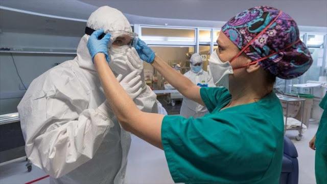 Coronavirus contagia a 52 mil profesionales sanitarios en España