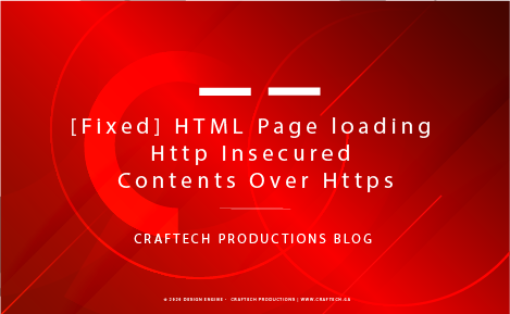 [Fixed] HTML Page loading Http Insecured Contents Over Https