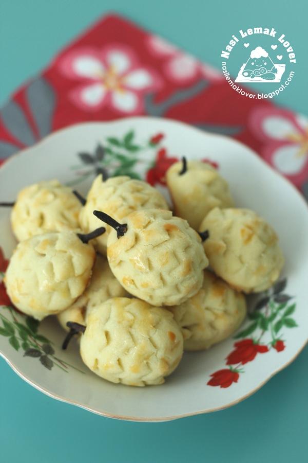 Pineapple-Shaped Tarts ???_2016 CNY cookies ??_????
