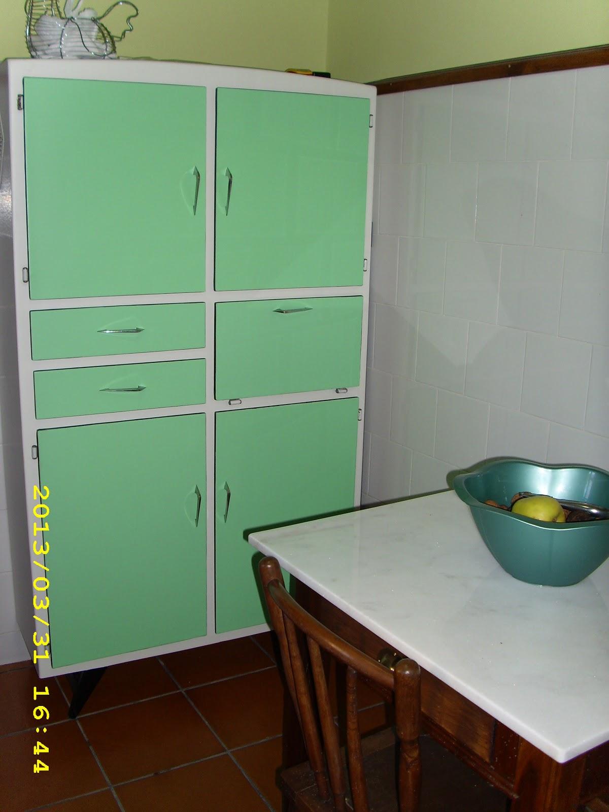 Gloria vintage mi cocina for Pintar un mueble de blanco
