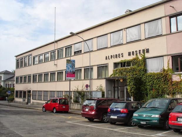 Swiss Alpine Museum in Bern Switzerland