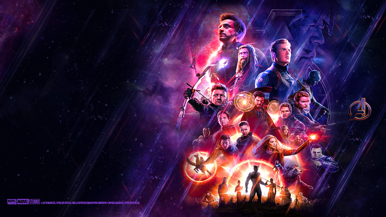 Marvel Spoiler Oficial Avengers Endgame Wallpaper Hd