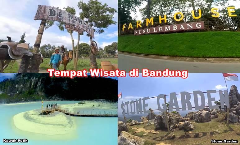 Rekomendasi Tempat Wisata di Bandung untuk Menghabiskan Liburan Anda