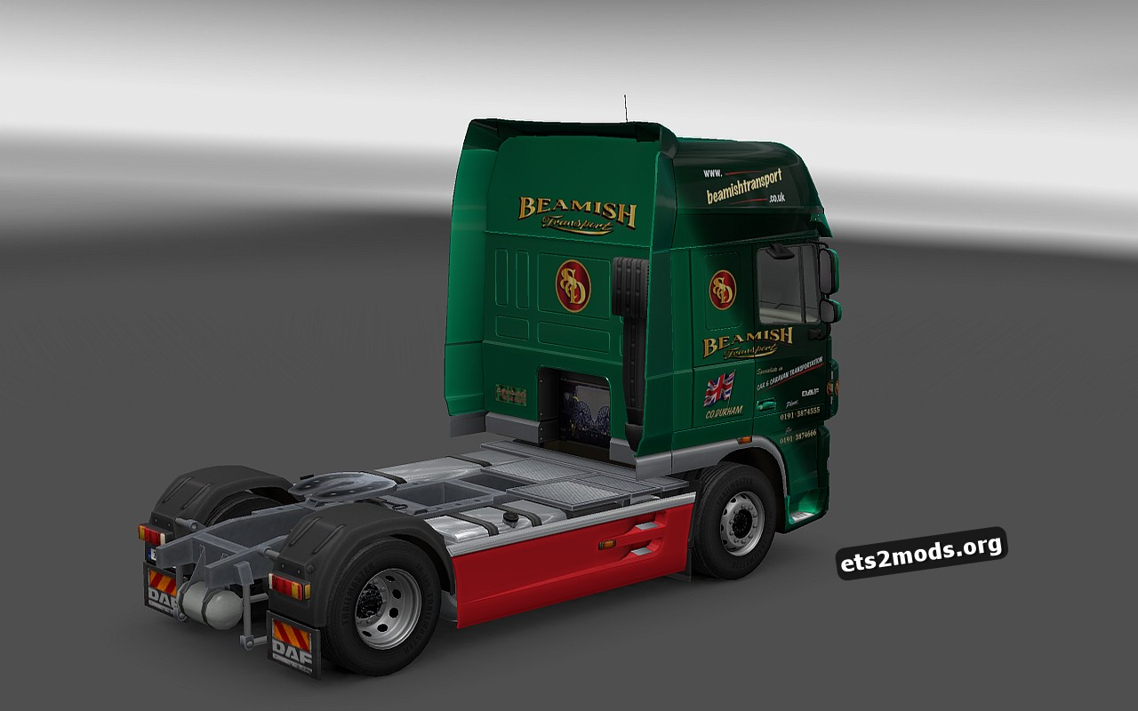 Beamish Transport Skin for DAF XF