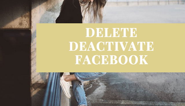 Delete My Account - Delete Facebook Account Now | How to Delete Your Fb Profile Permanently Or block my Facebook permanently | Deactivate Facebook temporarily
