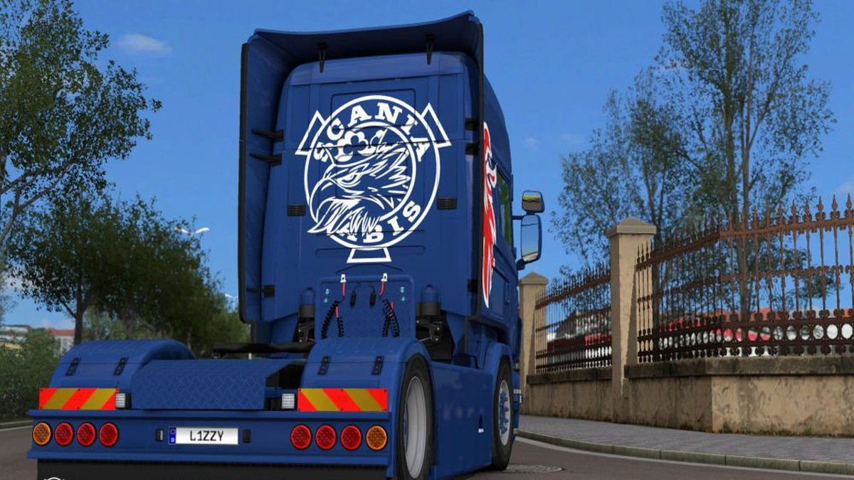 Simple Griffin for Scania RJL