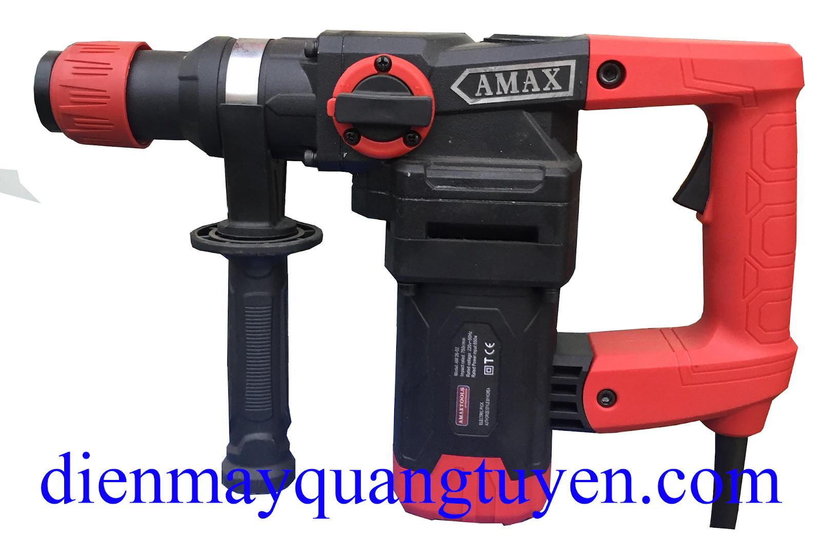 Máy khoan đục Amax AM26-02