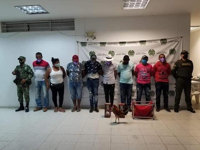 Estaban de juerga en una gallera en La Aurora - Chiriguaná