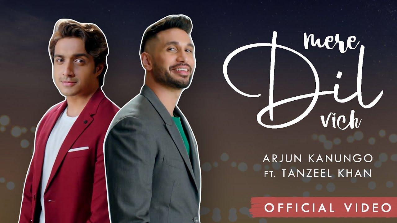 Mere Dil Vich Lyrics Arjun Kanungo x Tanzeel Khan   punjabi song
