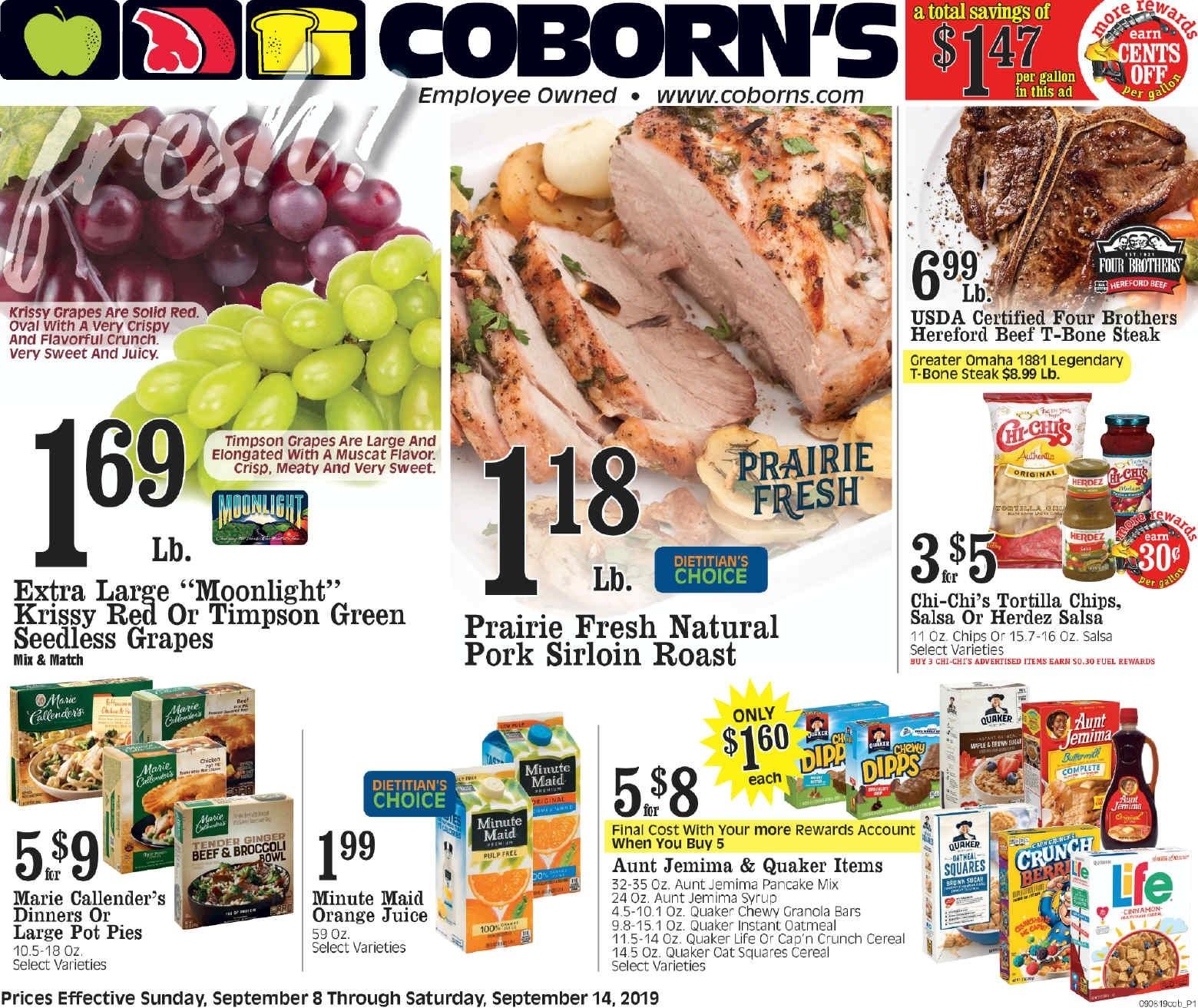 ⭐ Coborn's Ad 9/15/19