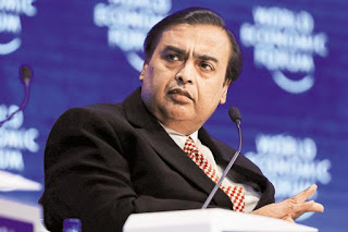 Mukesh Ambani ninth richest person in the world