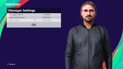 PES 2021 Faces Daniel Farke by VikingDuck13