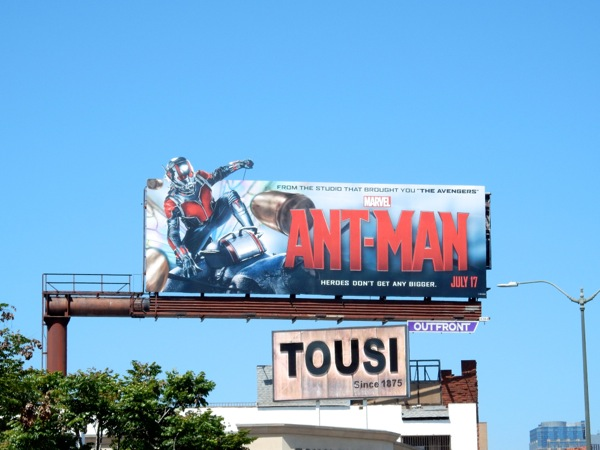 Ant-Man special movie billboard