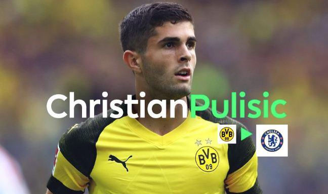 Chelsea Resmi Rekrut Christian Pulisic dari Borussia Dortmund